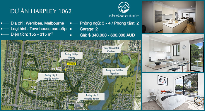 Dự án Harpley - Lot 1062 (Melbourne)