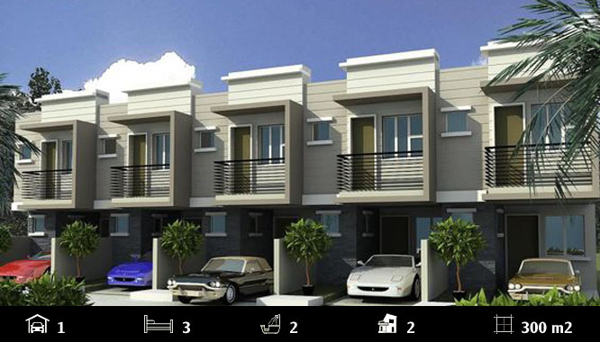 Dự án Harpley Lot 1062 - Townhouses