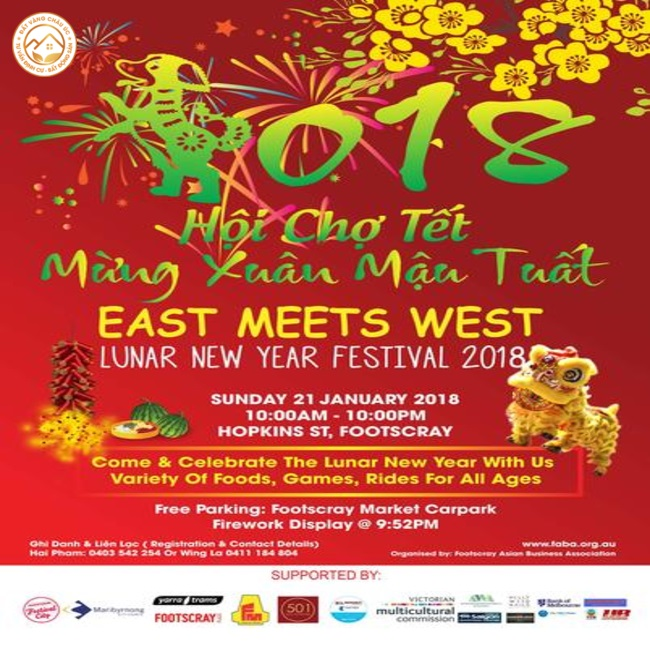 East Meets West Lunar New Year Festival 2018